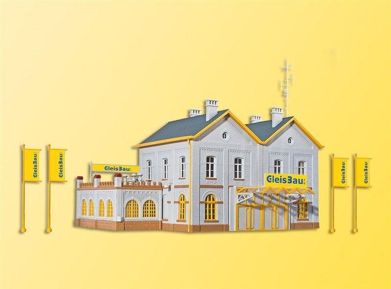 Kibri 39323 h0 edificio administrativo gleisbau