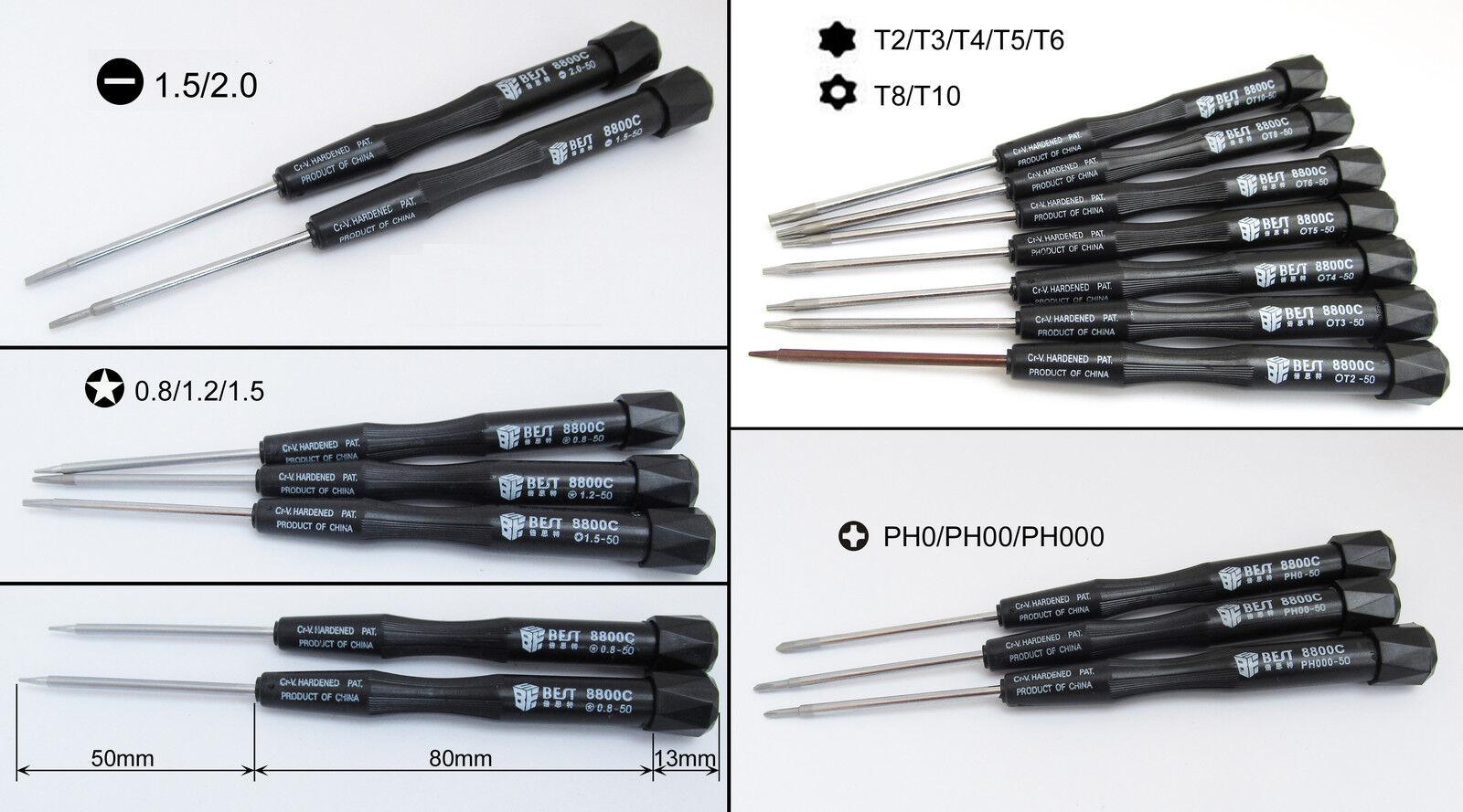100x Best 8800C 8800C 8800C Screwdriver phone Laptop Repair Tool Torx Slotted Phillips Star a20d76