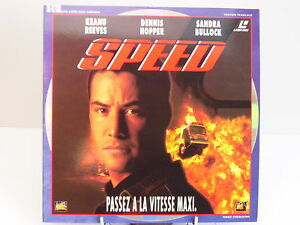 LASERDISC-SPEED-KEANU-REEVES-DENNIS-HOPPER