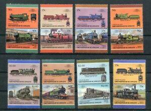 D124220 Trains Locomotives MNH Union Island Grenadines of St.Vincent