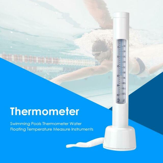 Swimming Pools Thermometer Water Floating Temperature Measure Instruments