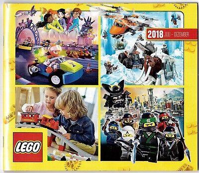 Lego Kataloge Januar bis Dezember 2018 Neu