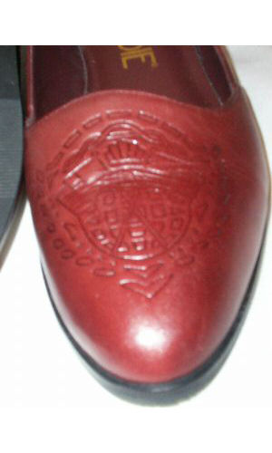 New COBBIE Damens Slip Leder Rust Loafer Dress Slip Damens On Flat Schuhe Sz 8 M Brazil 4ea403