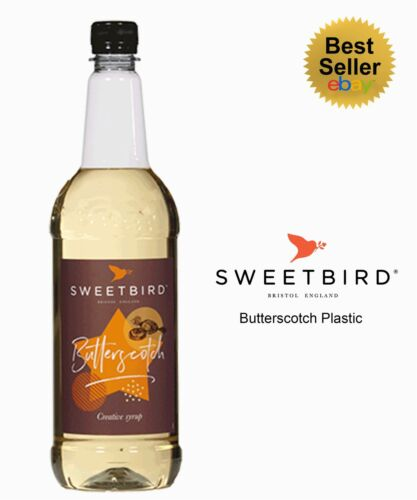 Sweetbird SyrupsCreative Range for Coffee /& Cocktails1L Plastic Bottles