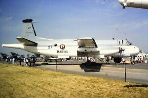 3-559-Breguet-Br-1150-Atlantic-French-Navy-27-Kodachrome-Slide