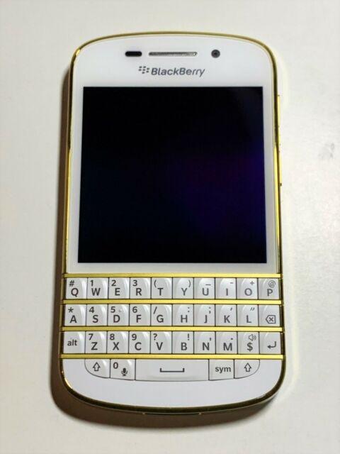 BlackBerry Q10 - 16GB -GOLD / WHITE (Unlocked)- ON SALE !! Limited Quantity !!