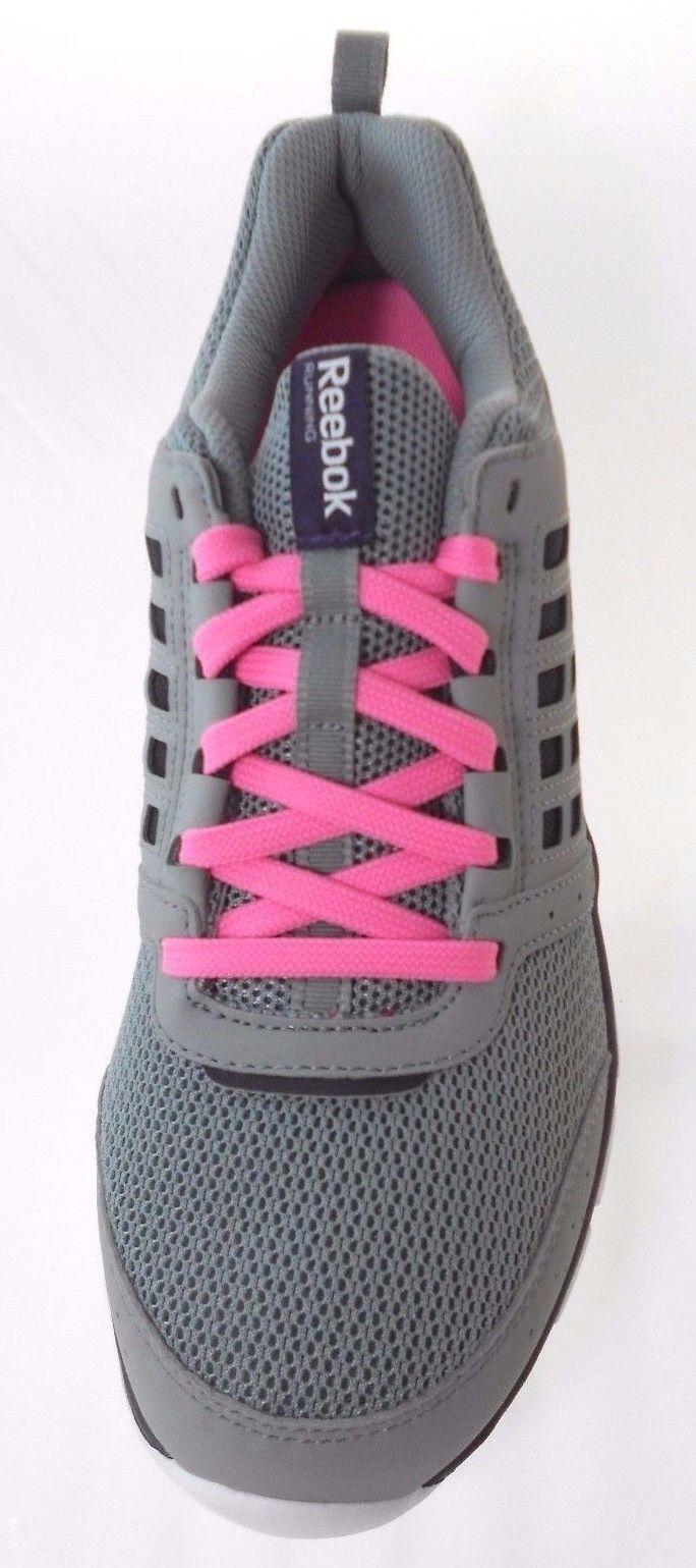 REEBOK REEBOK REEBOK Z DUAL RIDE WOMEN'S GREY/PINK RUNNING Schuhe sz 6.5, #M43472 5321cc