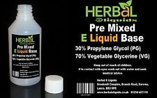 70/30 High Grade VG/PG Glycerine Mix E Liquid 0mg Nicotine 500ml FREE UK Post