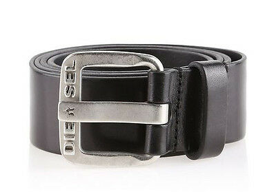 Belt in real leather DIESEL0 B-STAR Black 100 cm