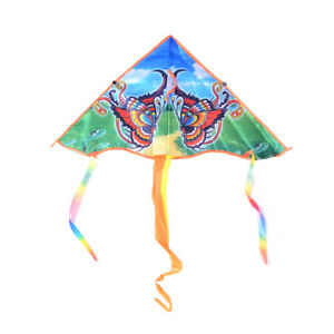 1PC-80cm-Butterfly-Printed-Long-Tail-Kite-Children-Outdoor-Garden-Fun-Toys-P-SK
