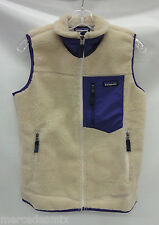 Patagonia Womens Classic Retro-X  Vest 23082 Natural Size Large