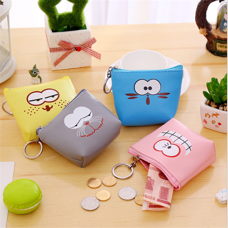 Cartoon Small Change Wallet Coin Pouch Durable Girls Korean Version Mini Purse T