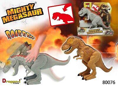 Mighty Megasaur Walking Biting Batterie Dinosaure Moving Toy Robot Light Sound New