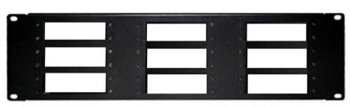 Premium Rack Mounting Kit For Holding 9 Of Coax TV Tuner RF Agile Modulators