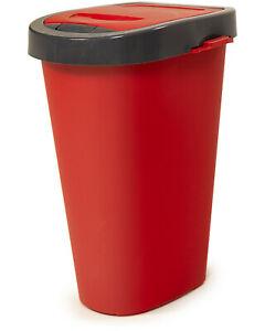 Papierkorb 40 Liter rot