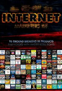 Red-Hot-Internet-comercializadores-Kit-totalmente-cargado-con-96-productos-de-Derechos-Reventa