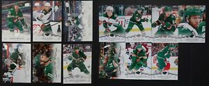 2018-19-Upper-Deck-UD-Minnesota-Wild-Series-1-amp-2-Team-Set-13-Hockey-Cards