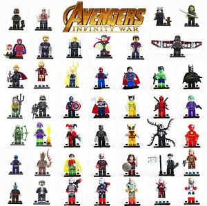 LEGO-MINIFIGURES-AVENGERS-ENDGAME-SUPER-HEROES-MARVEL-DC-COMICS-CUSTOM-LIKE