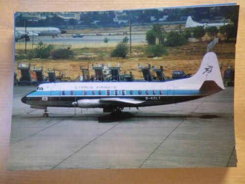 collection vilain N° 471 CYPRUS AIRWAYS  VISCOUNT 813  G-AZLT