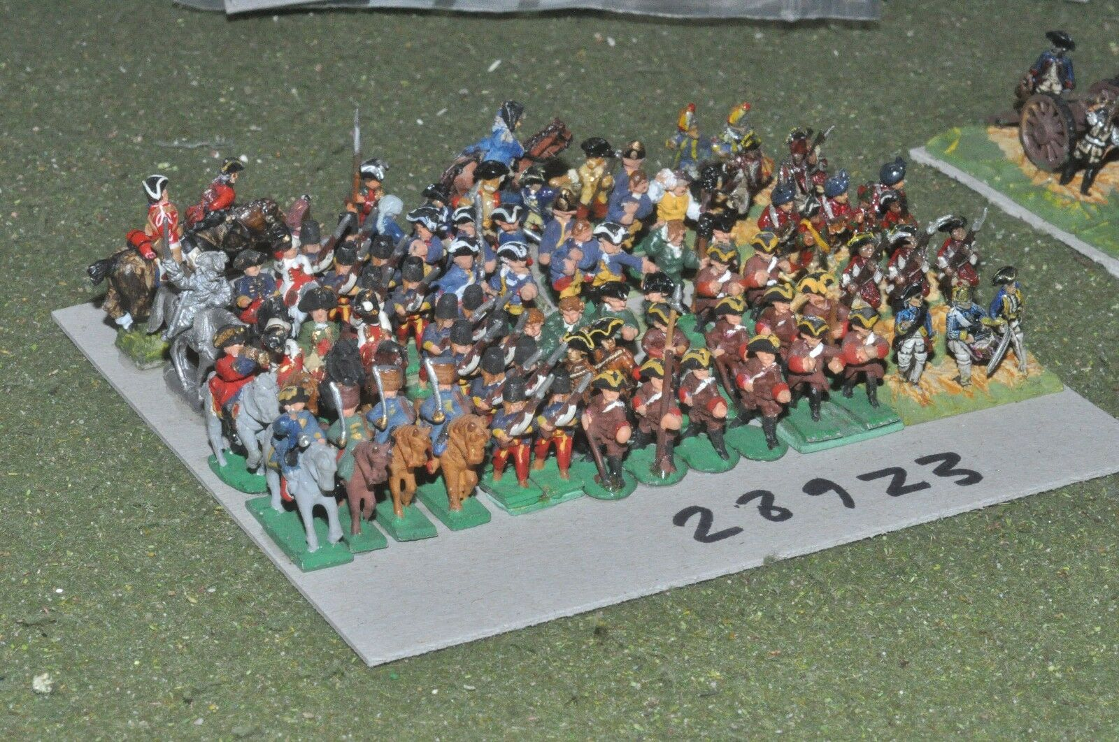 15mm 7YW   generic - mixed 80 figures - inf (28923)