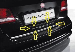 SCRITTA-STEMMA-FIAT-FREEMONT-ORIGINALE-POSTERIORE-logo-emblem-SIGN-schriftzug