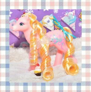 My-Little-Pony-MLP-G1-Vintage-1988-Sweetheart-Sister-SHS-DAINTY-Pink-Pony