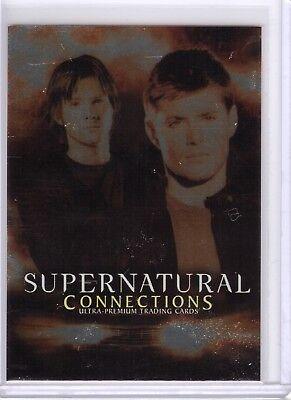 Sam /& Dean 2008 Inkworks Season 3 Promos #P-UK Supernatural Non-Sports Card