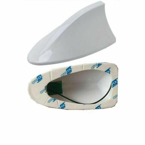 COMPATIBLE FOR SAV//NAT FM//AM FOR HONDA CR-V SHARK FIN FUNCTIONAL WHITE ANTENNA