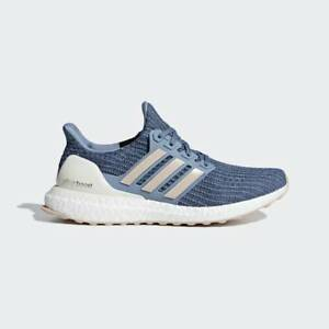 promo code 2677c c32ae Details about New Adidas Ultra Boost 4.0 Women Blue/White BB6493 Ultraboost