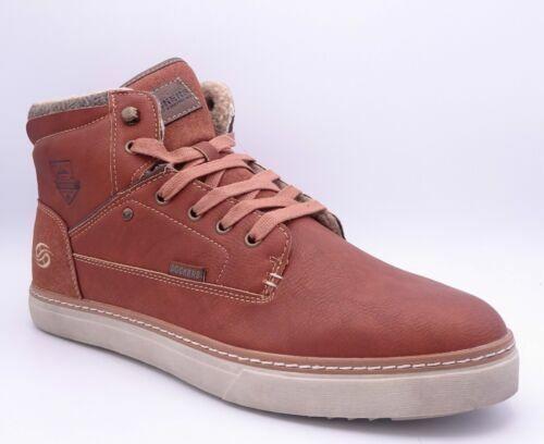 Dockers by Gerli Men's Tan Hi Top Trainers Boots Size UK 8.5 EU 42