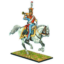 """First Legion: NAP0419 2nd Dutch """"Red"""" Lancers of the Imperial Guard Trumpeter"""
