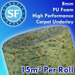 carpet underlay roll. image is loading 8mm-carpet-underlay-15m2-underlay-roll-high-performance- carpet underlay roll o