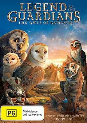 LEGEND OF THE GUARDIANS: The Owls of Ga'Hoole : NEW DVD