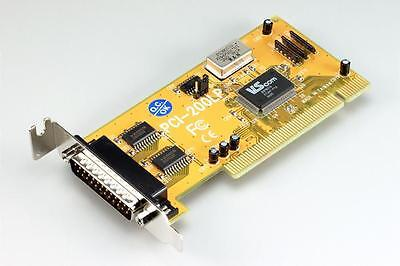 1-port RS232 serial PCI-bus low-profile card VSCom brand 32-bit