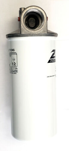Zinga Filter Assembly 1-1//2 NPT Housing with 25 Micron Filter