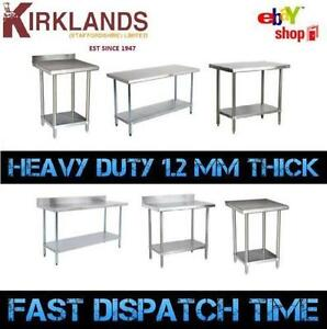Foot Mm Ft Stainless Steel Table Work Bench Catering Table - 4 foot stainless steel table