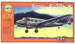 SMER-Siebel-Si204-A-Flugzeug-Deutschland-Bausatz-0929-1-72