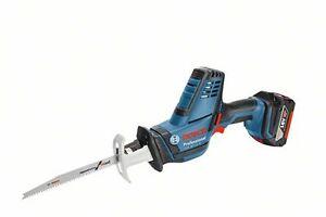 Bosch GSA 18 V-LI C, 2 x 5.0AH Li-Ion saw in L-BOXX 06016A5070 3165140818339