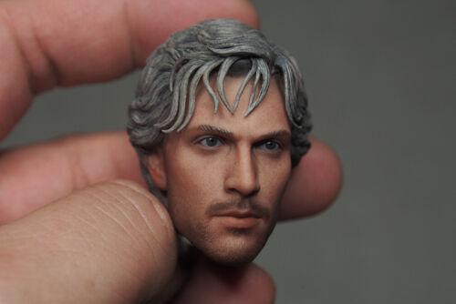 Custom 1//6 QuickSilver Aaron Johnson Head Sculpt For Hot Toys Figure Body