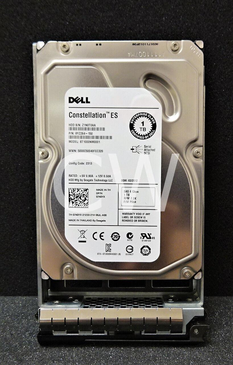 Dell 0740YX 1TB 7.2K RPM 6Gb//s 3.5 SAS HD