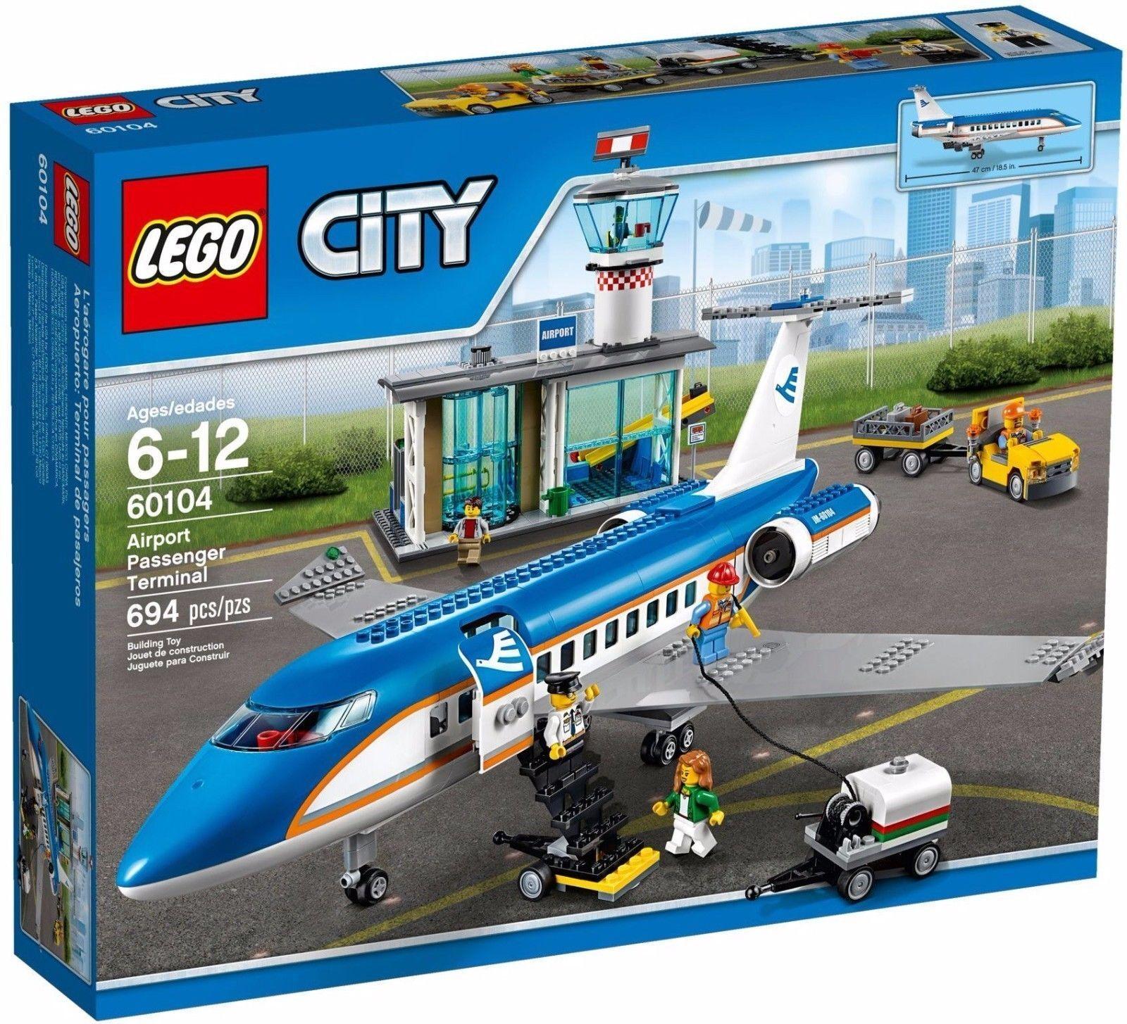 LEGO 60104 CITY Airport Passenger Terminal NEW