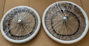 Wheel / Tyre Covers For Silver Cross Dolls Kensington Balmoral Coach Bulit Prams