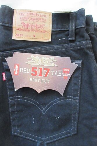 Boot Nos 13 Jeans Cut 517 Levis 5 Vtg Denim Black Hej Kvinder Rise Usa 34 Mom X 5wxxUAXZ