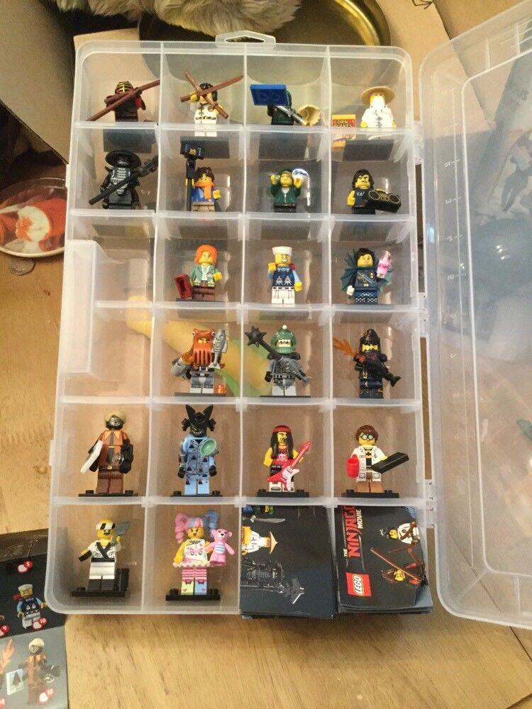 Lego Ninjago Movie Minifigures 71019 Full Set of 20 Mini Figures