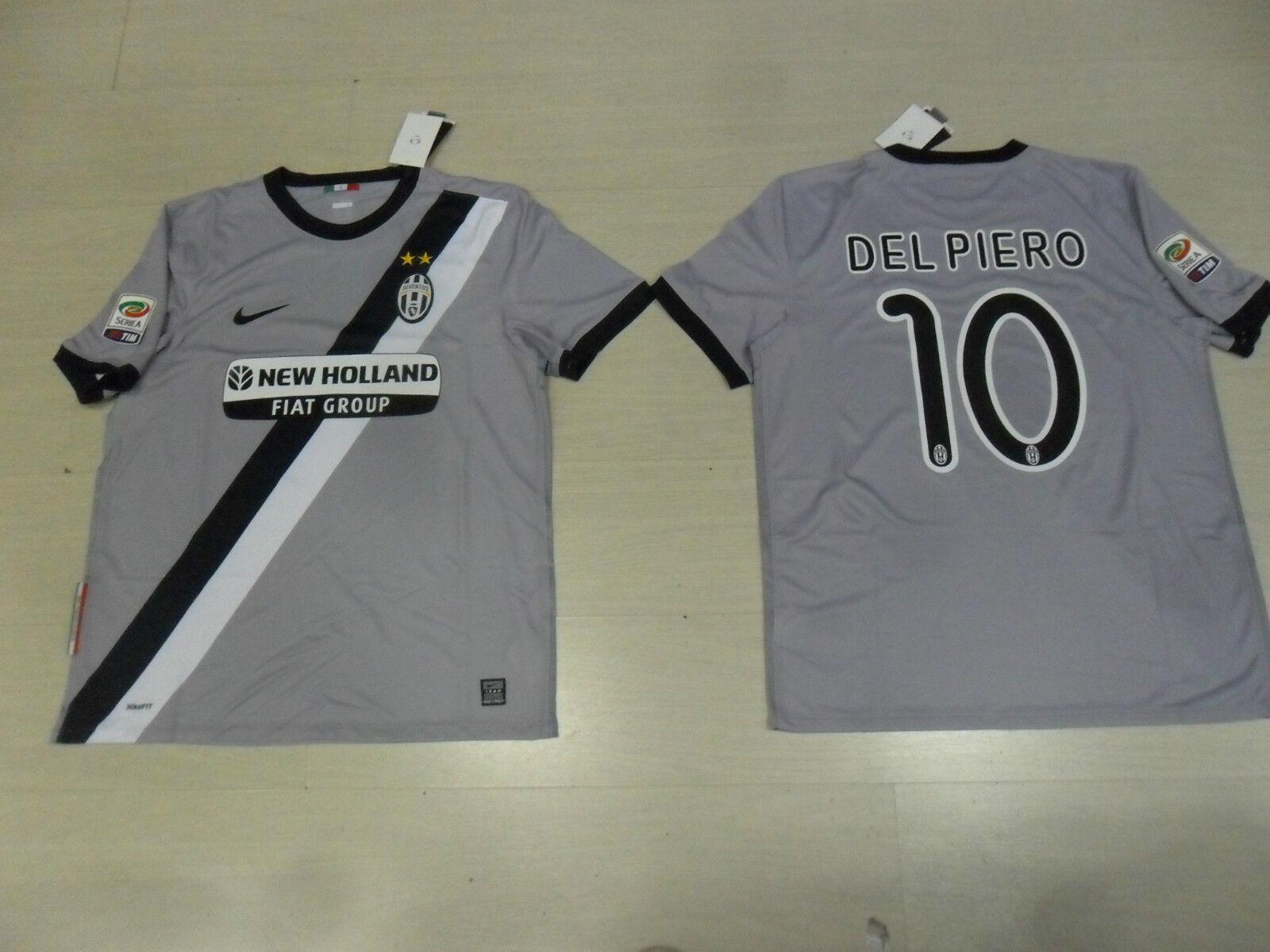 1462 Talla M 10 Del Piero Juventus Juve Camiseta Trikot Shirt Jersey
