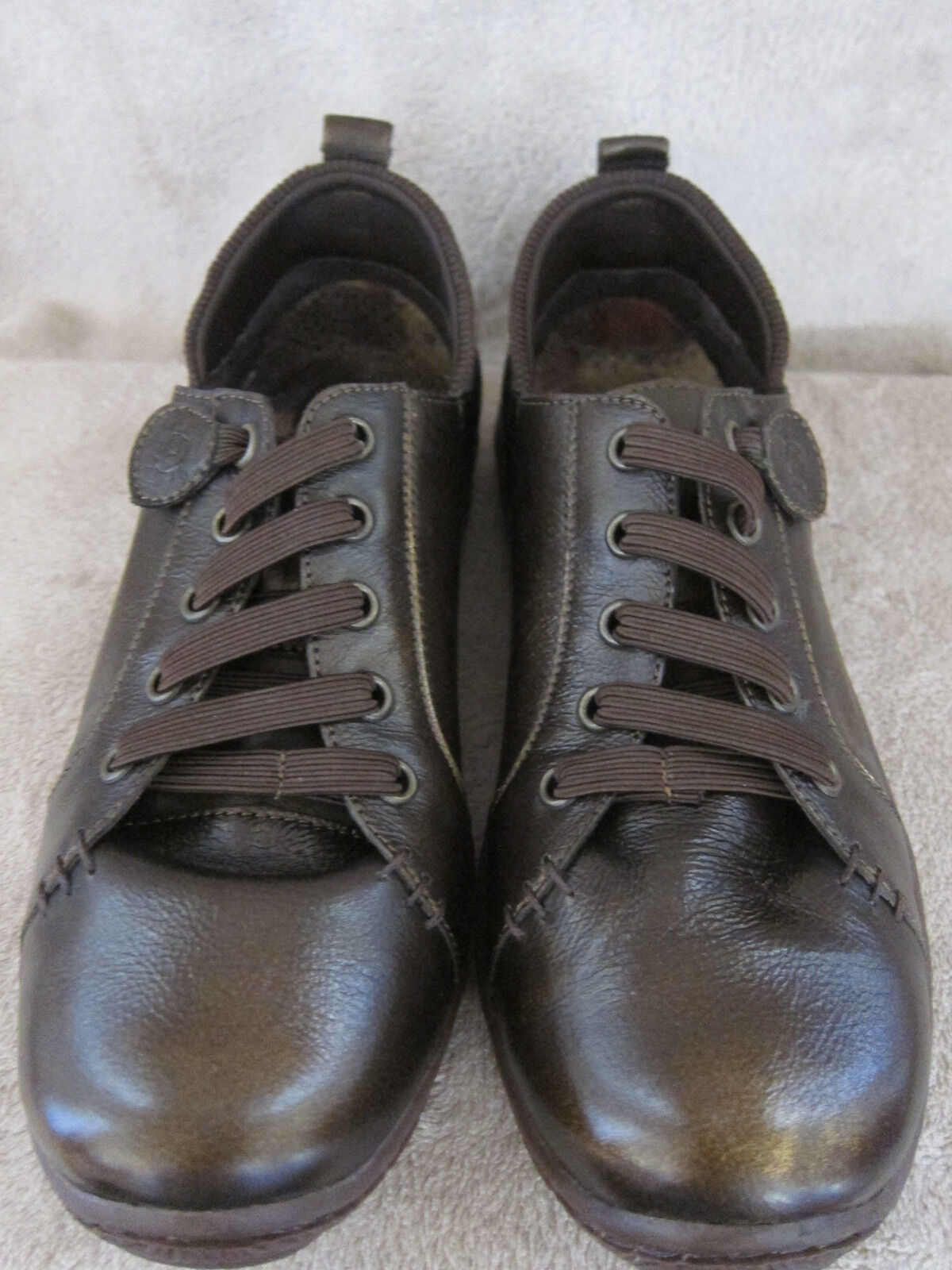 BORN Metallic Althea D11637 Damenschuhe Whiskey Metallic BORN Leder Schuhes US 8.5 M EUR 40 NWB 6d0772