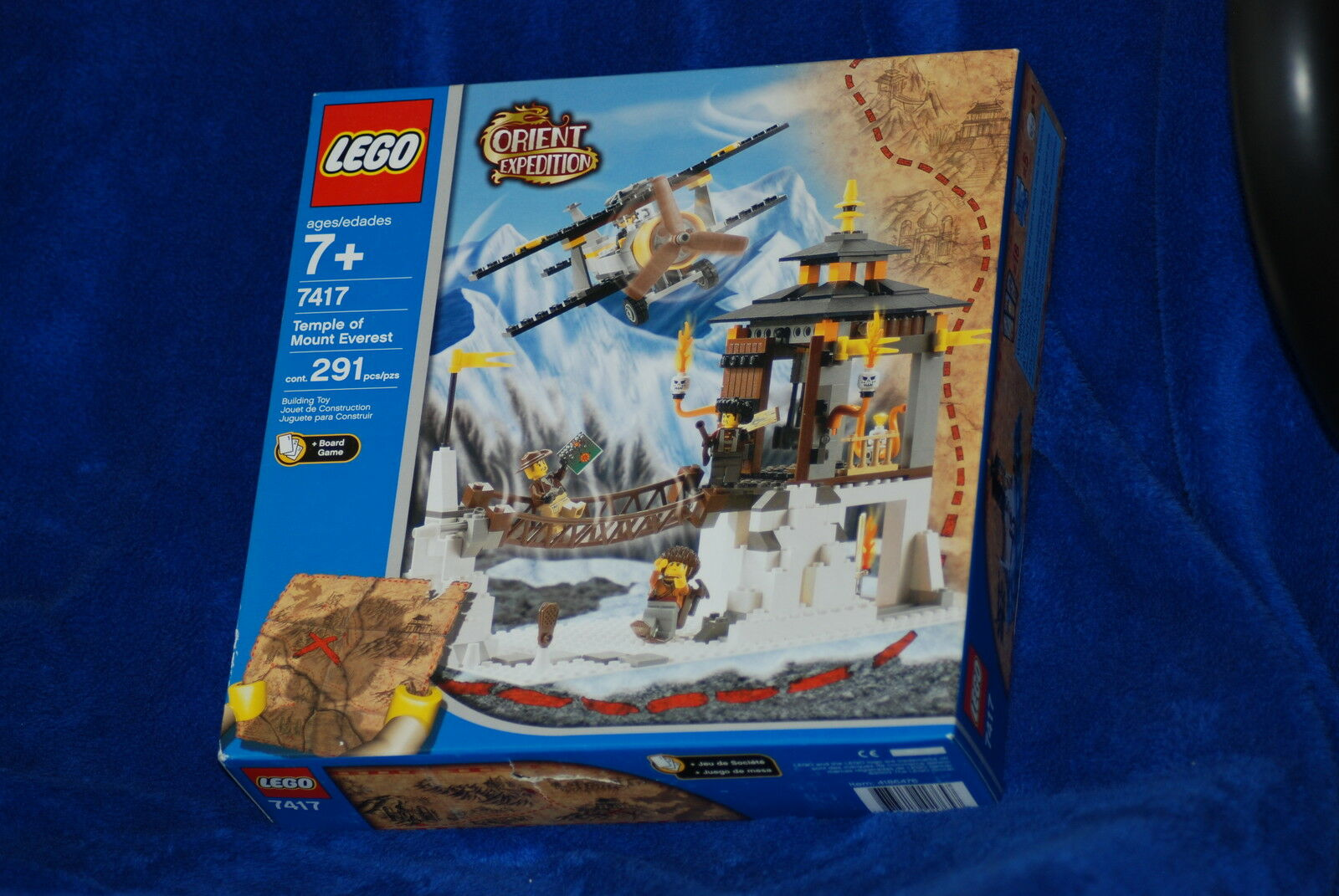 Lego Orient Temple of Mount Everest 7417 NISB RETIrot SET LOT