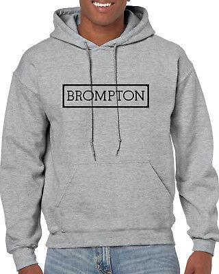Brompton Hoody Cyclisme T-shirt Tee Imprimé Sweat à capuche Vintage rétro Vélo Cadeau Jersey