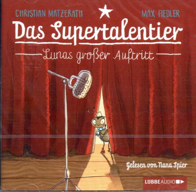 Das Supertalentier - Lunas großer Auftritt - 2 CD´s - NEU - B-WARE