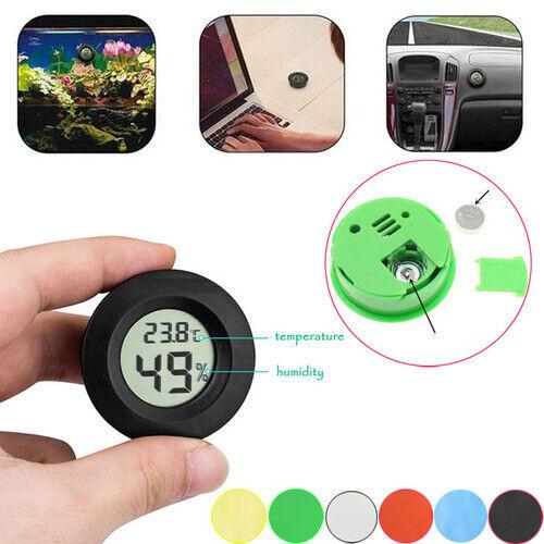 LCD Mini Temperature Humidity Meter Gauge Celsius Digital Thermometer Hygrometer
